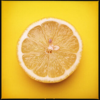 Colorful Food, Lemon on Yellow - MVC000077
