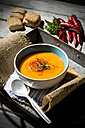 Carrot soup with chilli threads - MAEF007665