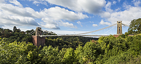 United Kingdom, England, Bristol, Clifton, Clifton Suspension Bridge - DISF000444