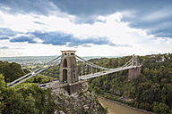 United Kingdom, England, Bristol, Clifton, River Avon, Clifton Suspension Bridge - DISF000445