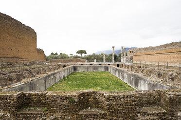Italy, Tivoli, view to Hadrian's Villa - DIS000412