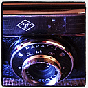 old analogue camera, Agfa Para-I with Color Apotar 2,8/30 lens, studio - HOHF000398
