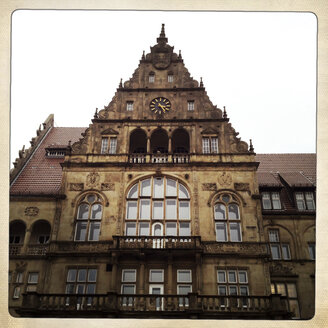 old city hall in the center of Bielefeld, Germany - ZMF000183