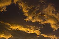 Germany, Euskirchen, morning sky, clouds, sunrise - MYF000159