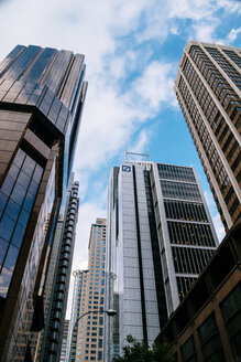 Australia, New South Wales, Sydney, facades of skyscrapers, view from below - FB000204