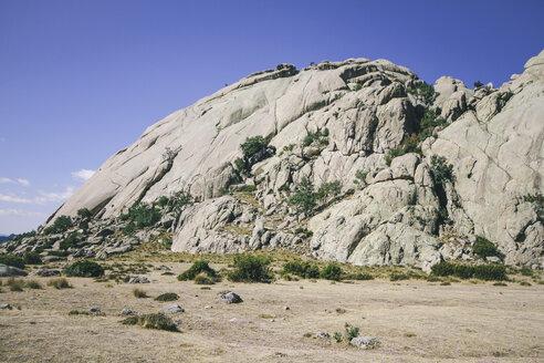 Spain, Manzanares el Real. Madrid, La Pedriza, view to Yelmo - AMCF000042