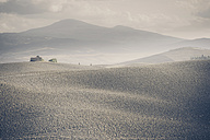 Italy, Tuscany, Val d'Orcia, Rolling landscape - MJF000755