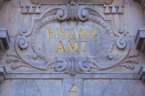 Germany, Bavaria, Lindau, tax office - WD002251
