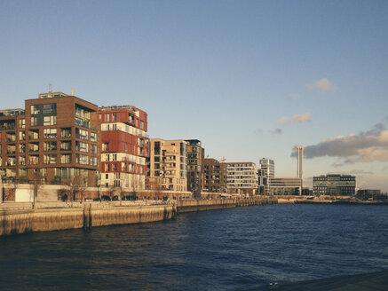 View of Grasbrookhafen, HafenCity Hamburg, Hamburg, Germany - SEF000474