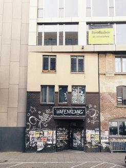 Facade in the Great Elbstrasse, Altona, Hamburg, Germany - SE000507