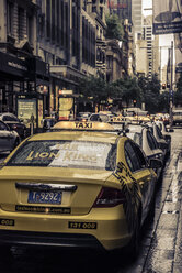 Australia, New South Wales, Sydney, parking cabs - FB000216