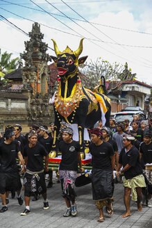 Indonesia, Bali, view to religious procession - KRP000239
