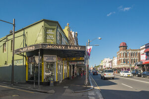 Australia, New South Wales, Sydney, old buildings at Newtown - FBF000225