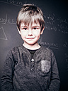 Smart Portrait of a Three Year old Toddler, Berlin, Germany - MVC000105