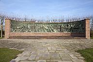 Germany, North Rhine-Westphalia, Essen, Krupp-Guertel, memorial, relief created by Artur Hoffmann - WI000344