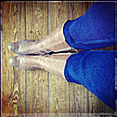 Jeans and boots - LVF000622