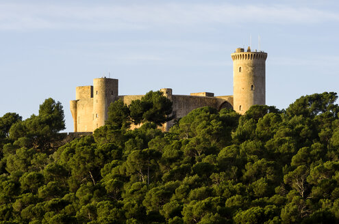 Spain, Majorca, Bellver Castle - THA000055