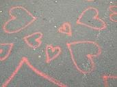 Hearts on Streets, Munich, Bavaria, Germany - RIMF000108