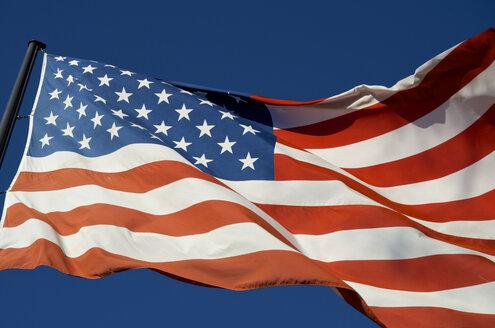 Germany, Koblenz, American Flag - MHF000282