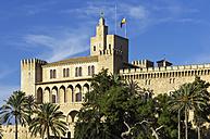 Spain, Majorca, Palma, Palau de Almudaina - THAF000069