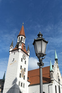 Germany, Bavaria, Munich, Old city hall, Toy Museum in town hall tower - LAF000574
