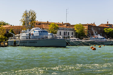 Italy, Venice, Boats of fiscal authority - EJW000295