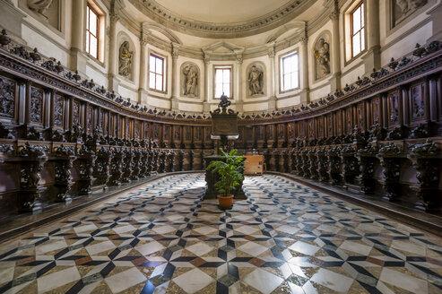 Italy, Venice, Interior of church San Giorgio Maggiore - EJW000268