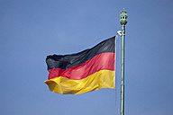 German flag and blue sky - WI000363