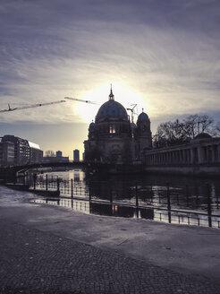 Sun illuminated window of Berlin dome, Berlin, Germany - FBF000233