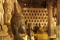 Laos, Vientiane, Wat Si Saket, Buddhas - SJ000091