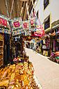 Morocco, Essaouira, Old Medina, shop with handbags - THA000112