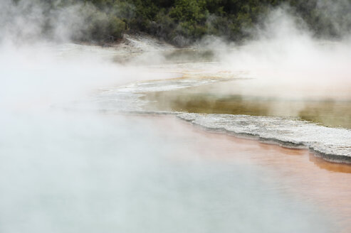 New Zealand, North Island, Bay of Plenty, Rotorua, Wai-O-Tapu, Champagne Pool - JB000064