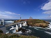 Spain, Galicia, Faro de Illa Pancha (Ribadeo) - LAF000619