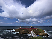 Spain, Galicia, Faro de Illa Pancha (Ribadeo) - LAF000620