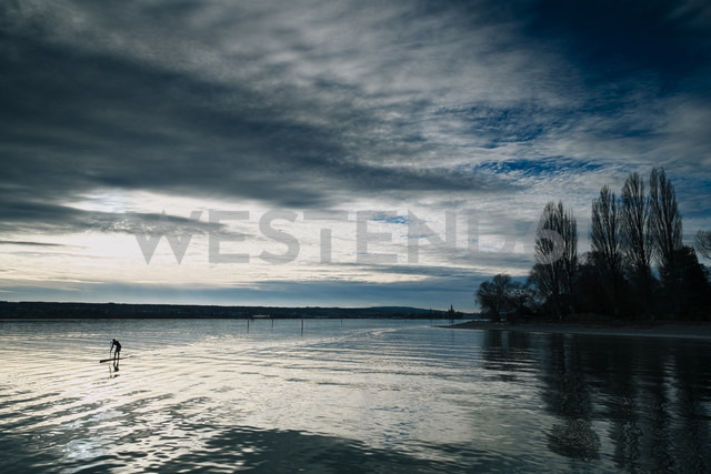 Germany, Baden-Wuerttemberg, Constance district, Constance, Schmugglerbucht at Lake Constance - EL000866