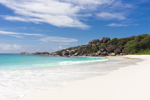 Seychelles, La Digue, Grand Anse beach - WEF000003