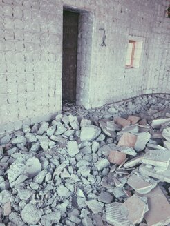 Debris in a torn-down building in Bonn, North Rhine-Westphalia, Germany - MEAF000216