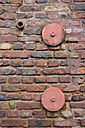 Detail of brick wall - HLF000403