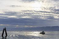 USA, Alaska, Kenai Peninsula, Kachemak Bay, Cook Inlet, Homer, Fishing boat - FO006067