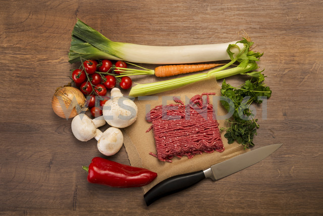 Vegetable mincemeat pan, ingredients - CSTF000007
