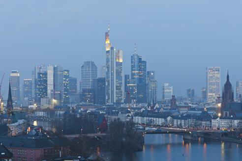 Germany, Hesse, View of Frankfurt am Main - MSF003384