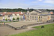 Germany, Bavaria, Coburg, Theaterplatz and Theatre - VT000100