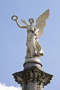 Germany, North Rhine-Westphalia, Oberhausen, Angel of peace, victory column - WI000393