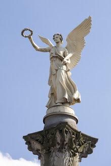 Germany, North Rhine-Westphalia, Oberhausen, Angel of peace, victory column - WI000393