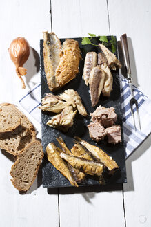 Variety of pickled and marinated fish - MAEF007936