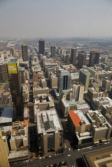 South Africa, Johannesburg, Overview of downtown - TK000296