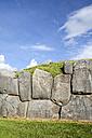 South America, Peru, Cusco, Inca citadel, ruin of Saksaywaman - KRP000318