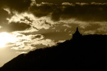 Germany, North Rhine-Westphalia, Porta Westfalica, Kaiser William monument - HOHF000525