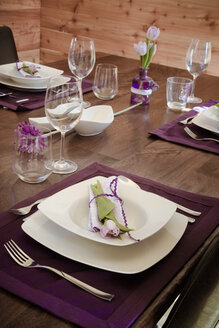 Festive laid table - SARF000293