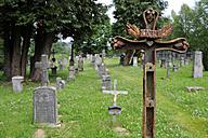 Czechia, South Bohemia, Kvilda, Knizeci Plane, Fuerstenhut, old cemetery - LB000605